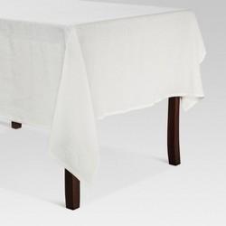 White Linen Tablecloth - Threshold™
