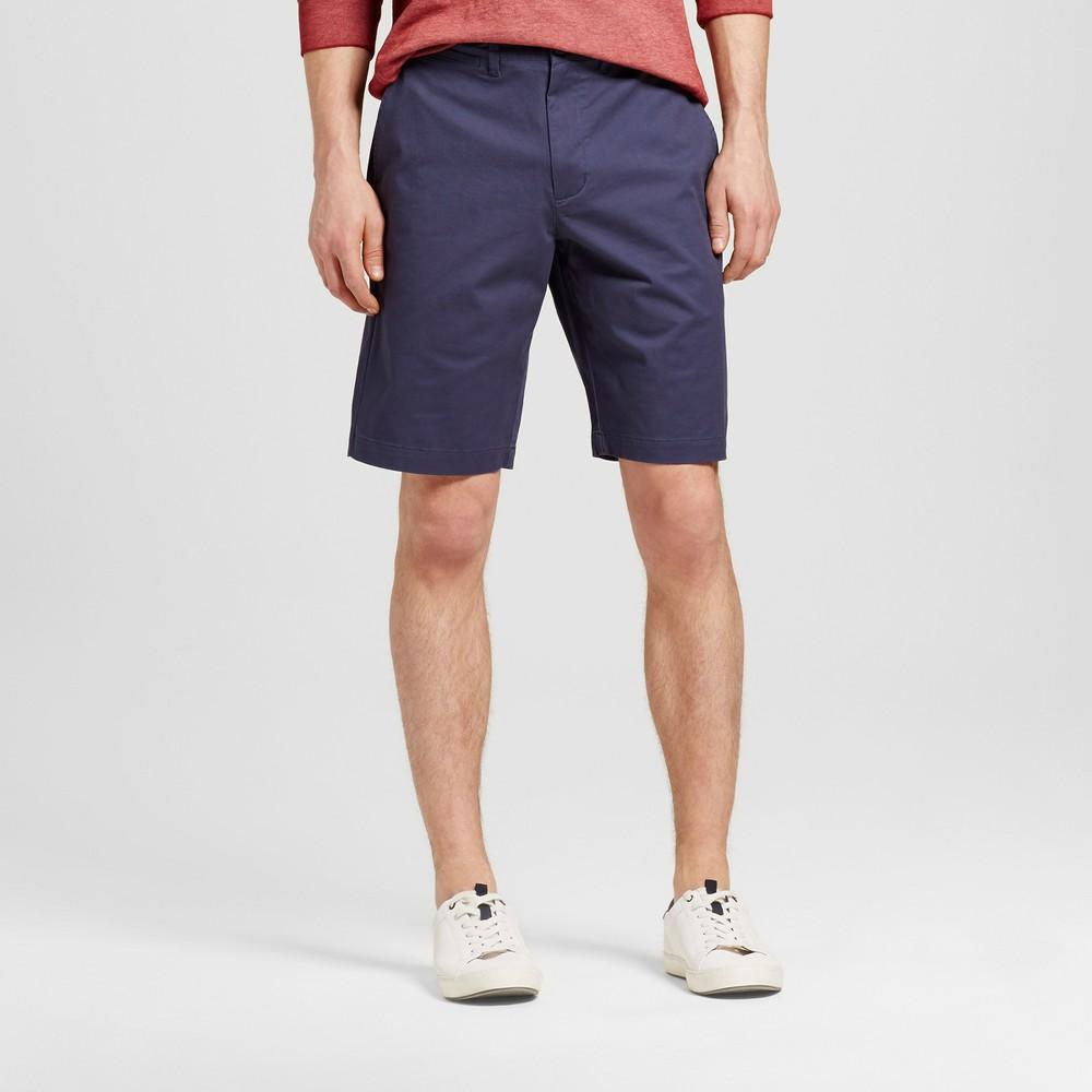 Mens Club Shorts 10.5 - Merona Blue 40