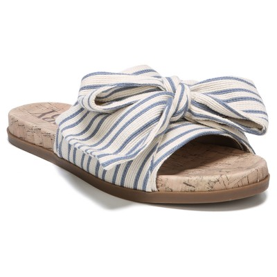 Women's Sam & Libby Neveda Slide Sandals with a Bow