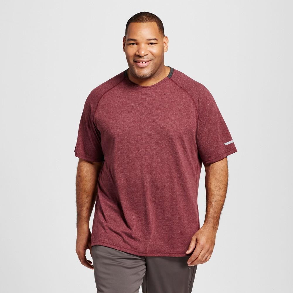 Mens Tall Premium Run T-Shirt - C9 Champion Bordeaux (Red) MT