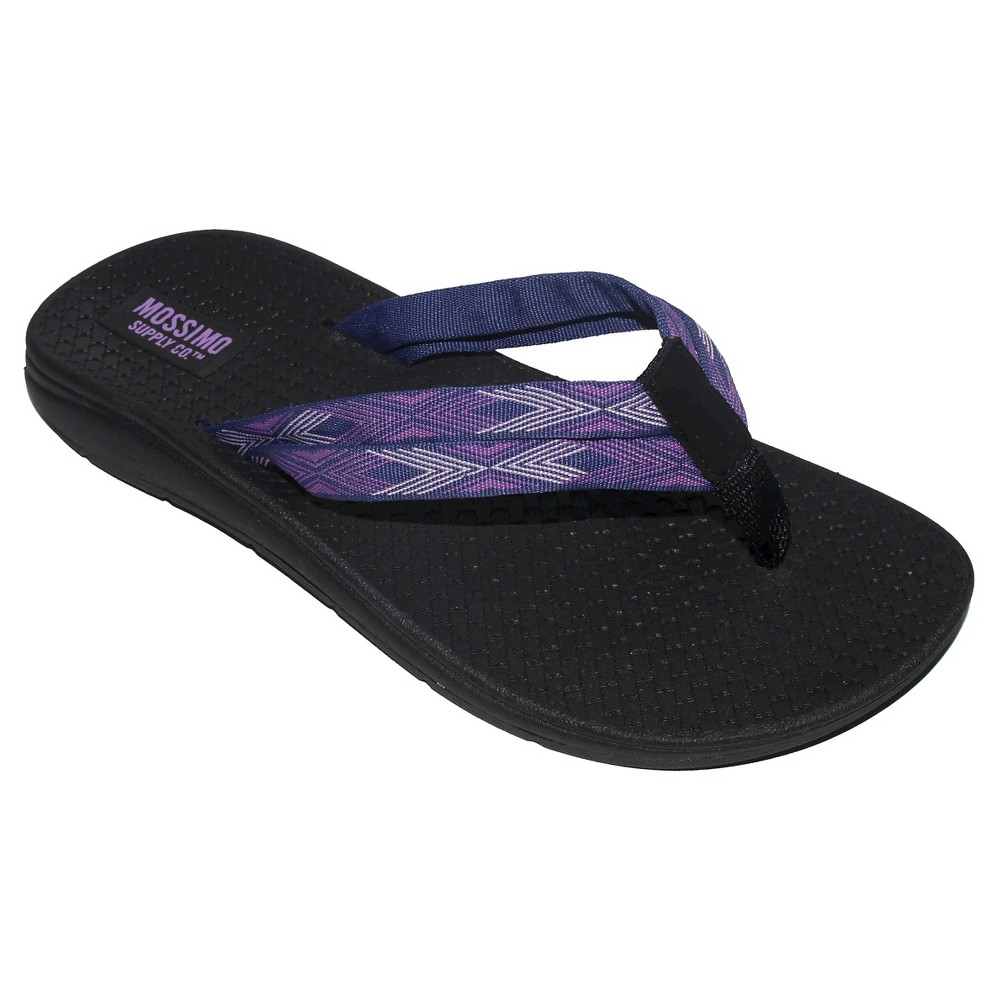 Womens Weslee Flip Flop Sandals - Mossimo Supply Co. Purple 8