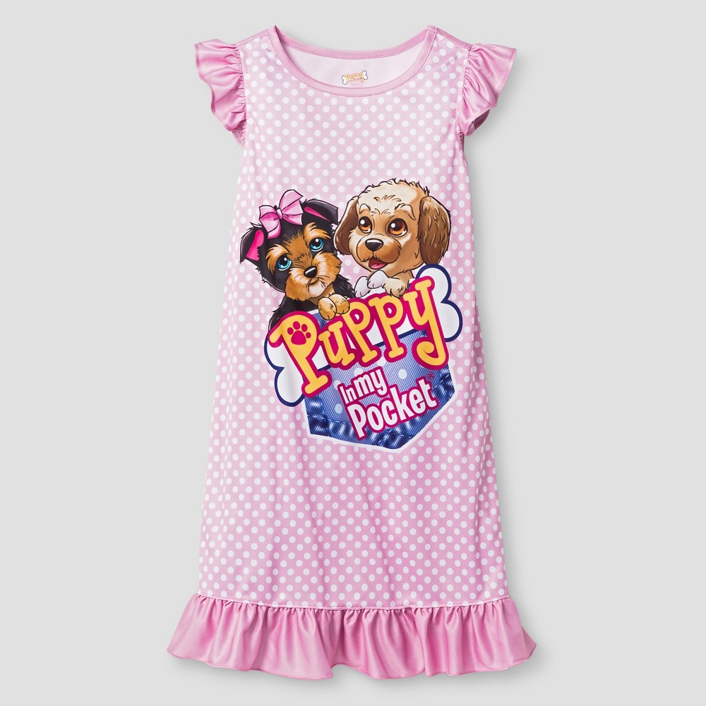 Find One Piece Sleepwear At Target! Your Little Girl Will Sleep Like An  Angel When She Gets To Cuddle In With Her Puppy In My Pocket Ruffle  Nightgown