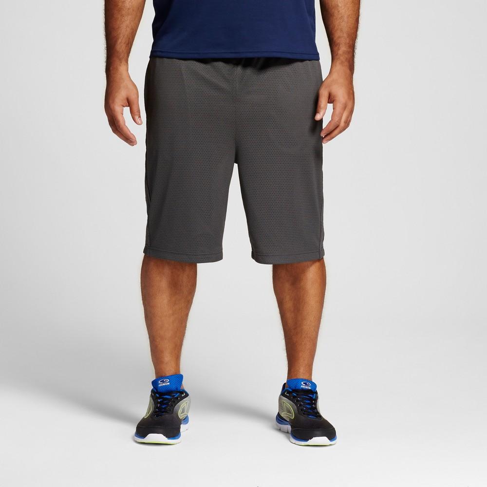 Mens Big & Tall Mesh Shorts - C9 Champion - Railroad Gray 2XB