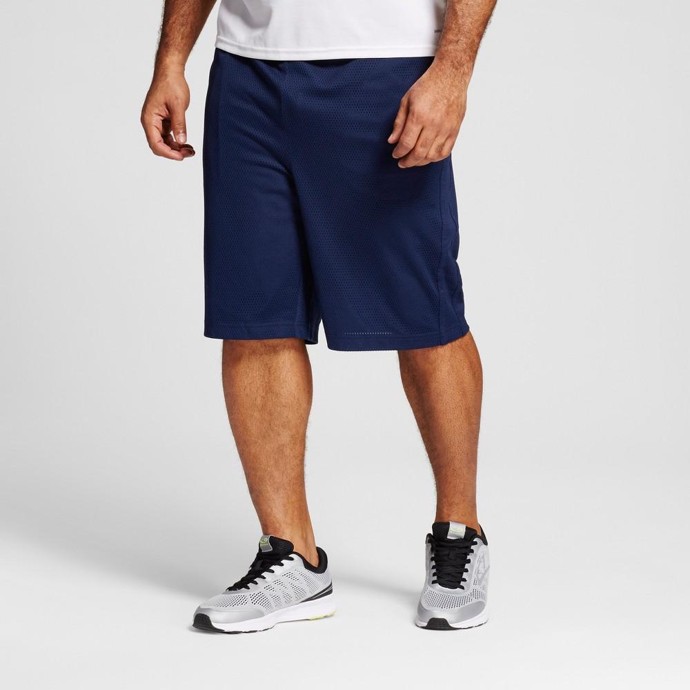 Mens Big & Tall Mesh Shorts - C9 Champion Dark Night Blue 5XB