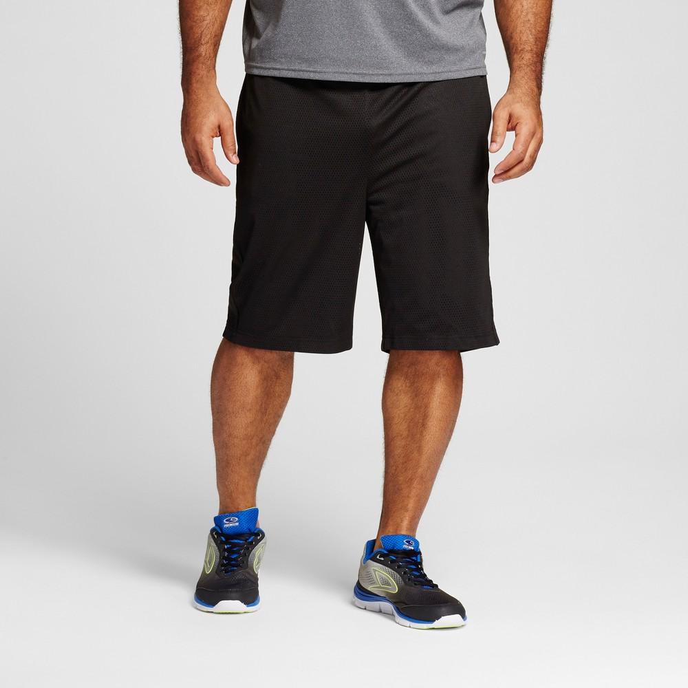 Mens Big & Tall Mesh Shorts - C9 Champion Black 3XB