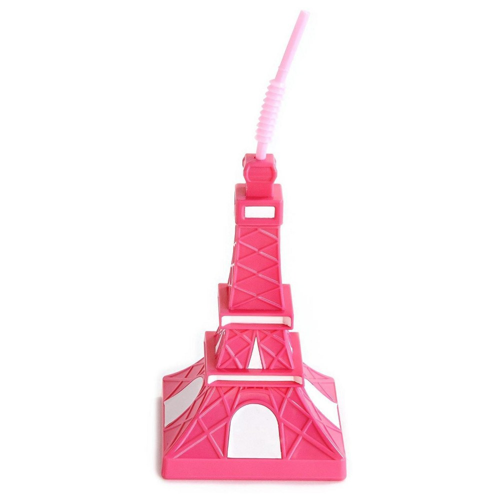 Eiffel Tower Molded Cup (4), Pink