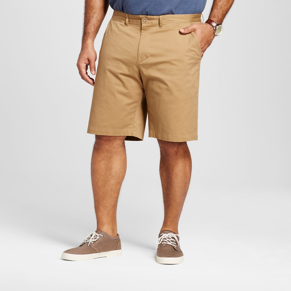 Mens Big & Tall Club Shorts - Merona Cattail 50