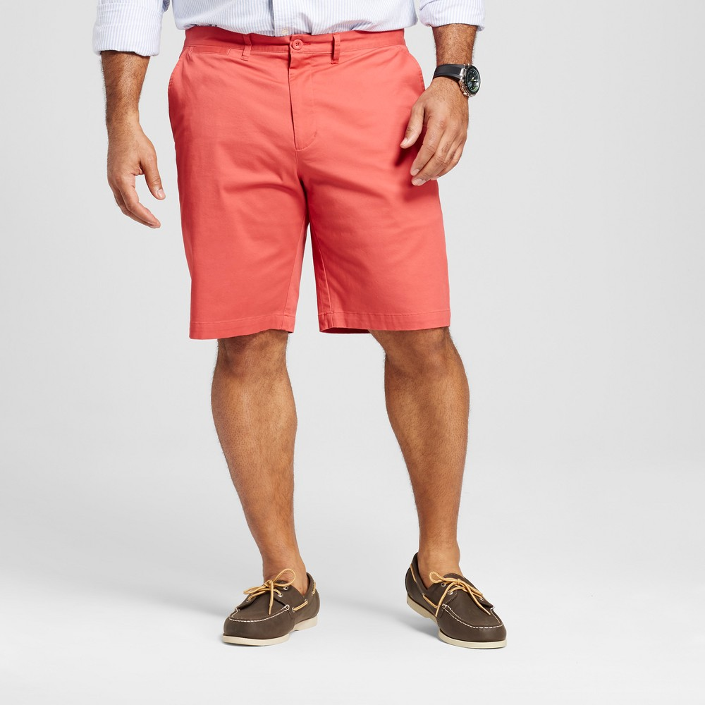 Men's Big & Tall Club Shorts - Merona Red 56