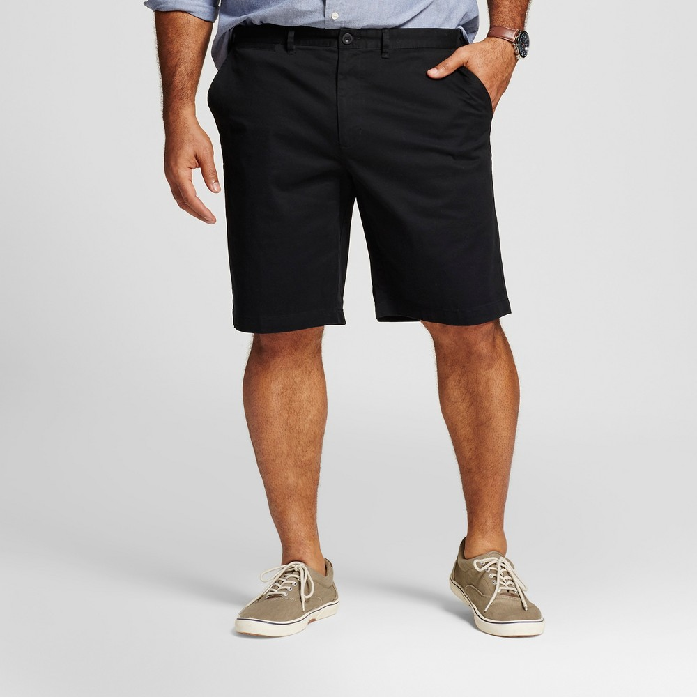 Mens Big & Tall Club Shorts - Merona Black 54