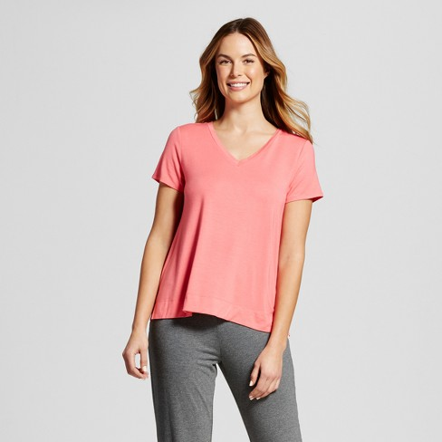 Women's Sleep T-Shirt Total Comfort - Gilligan & O'Malley™ - Fifties Pink M - image 1 of 2