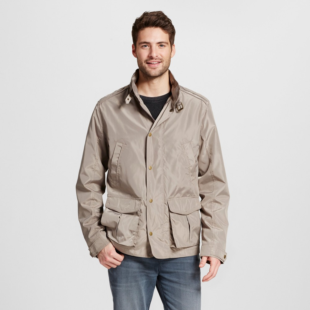 Mens Nylon Field Jacket - Merona Tan L