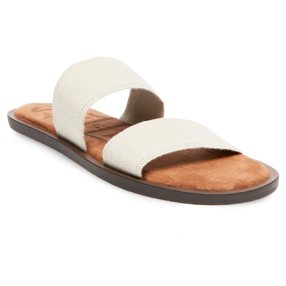 Womens Mad Love Tahlia Slide Sandals - Tan 11