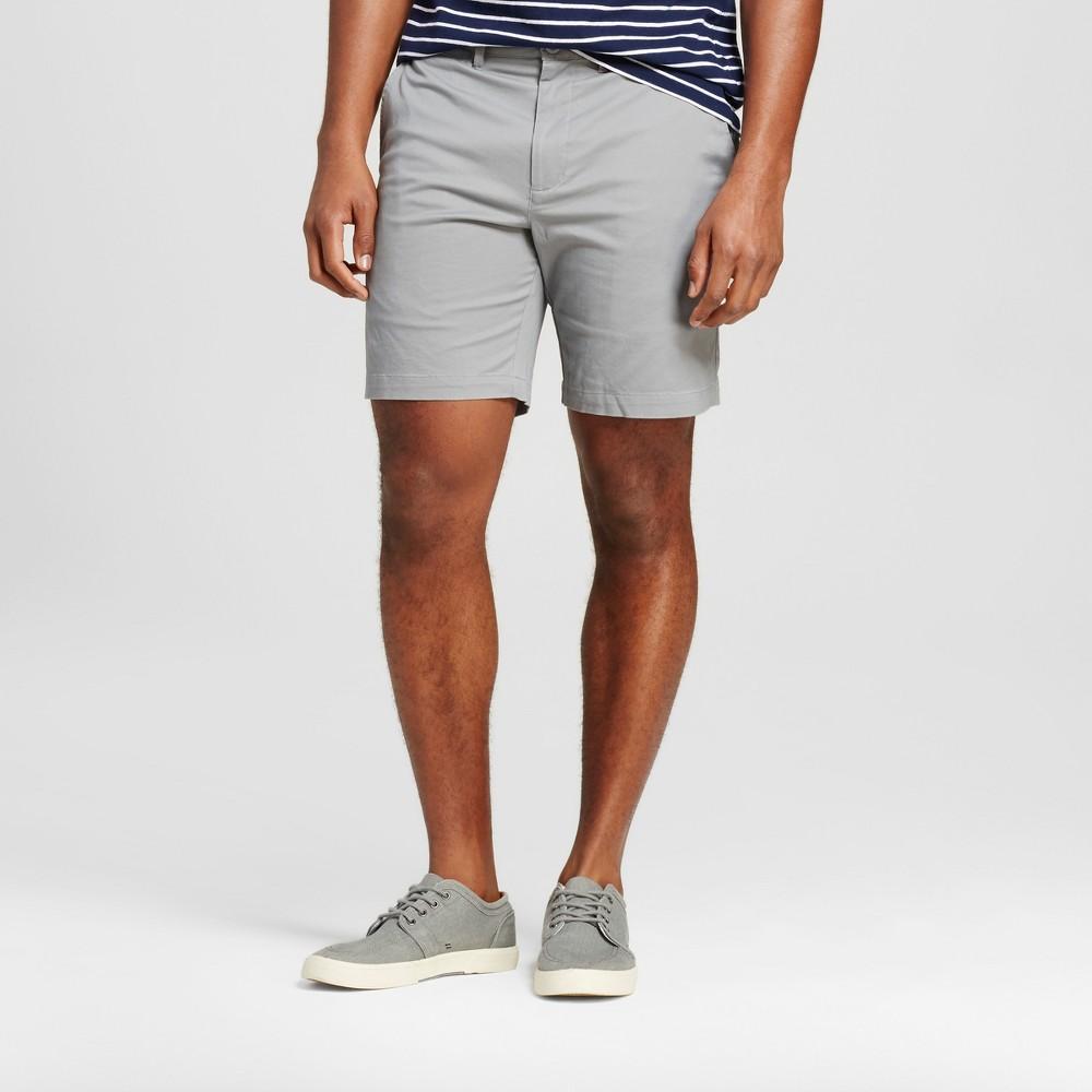Mens 8 Club Shorts - Merona Gray 36
