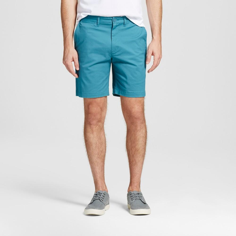 Mens 8 Club Shorts - Merona Turquoise 42