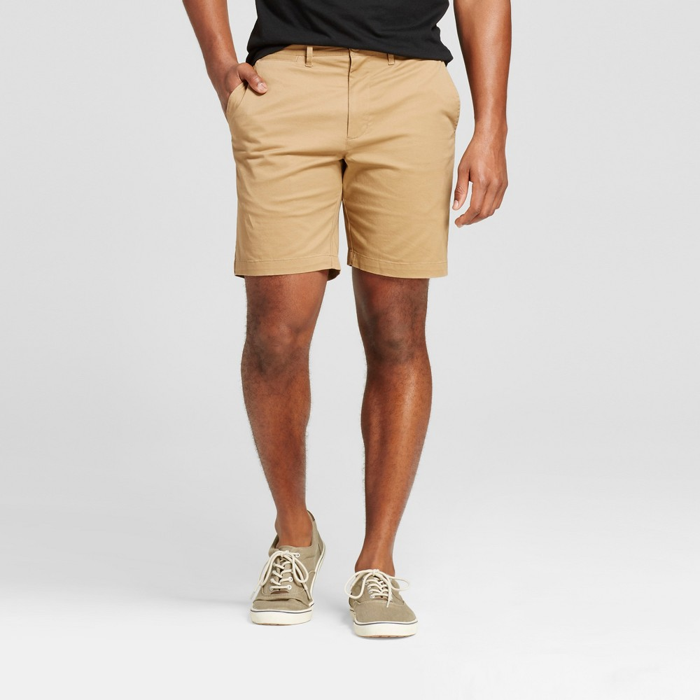 Mens 8 Club Shorts - Merona Brown 32