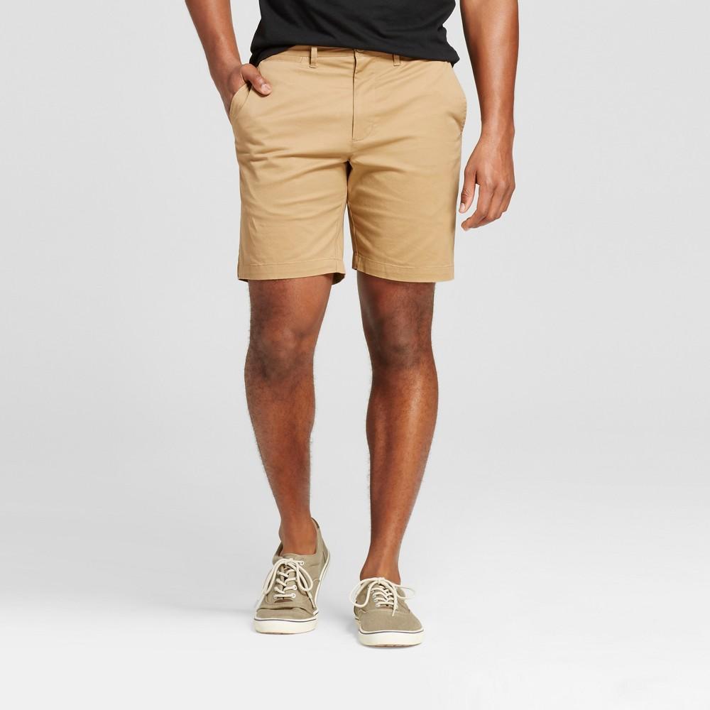 Mens 8 Club Shorts - Merona Brown 33