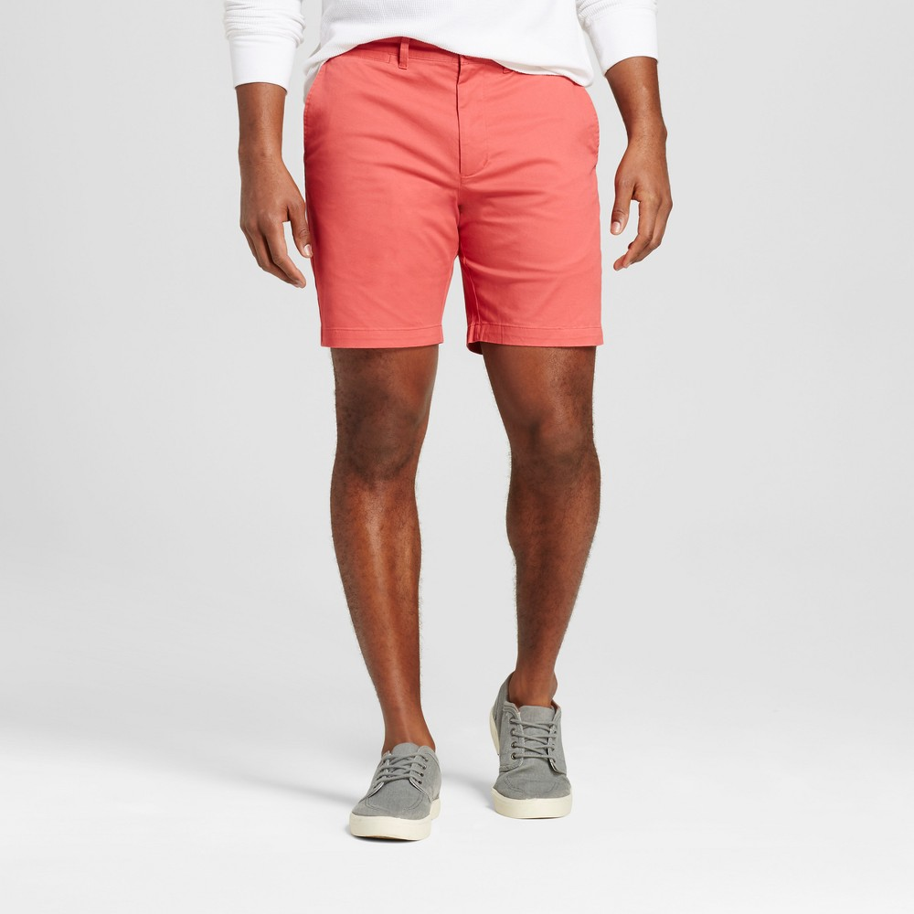 Mens 8 Club Shorts - Merona Red 28