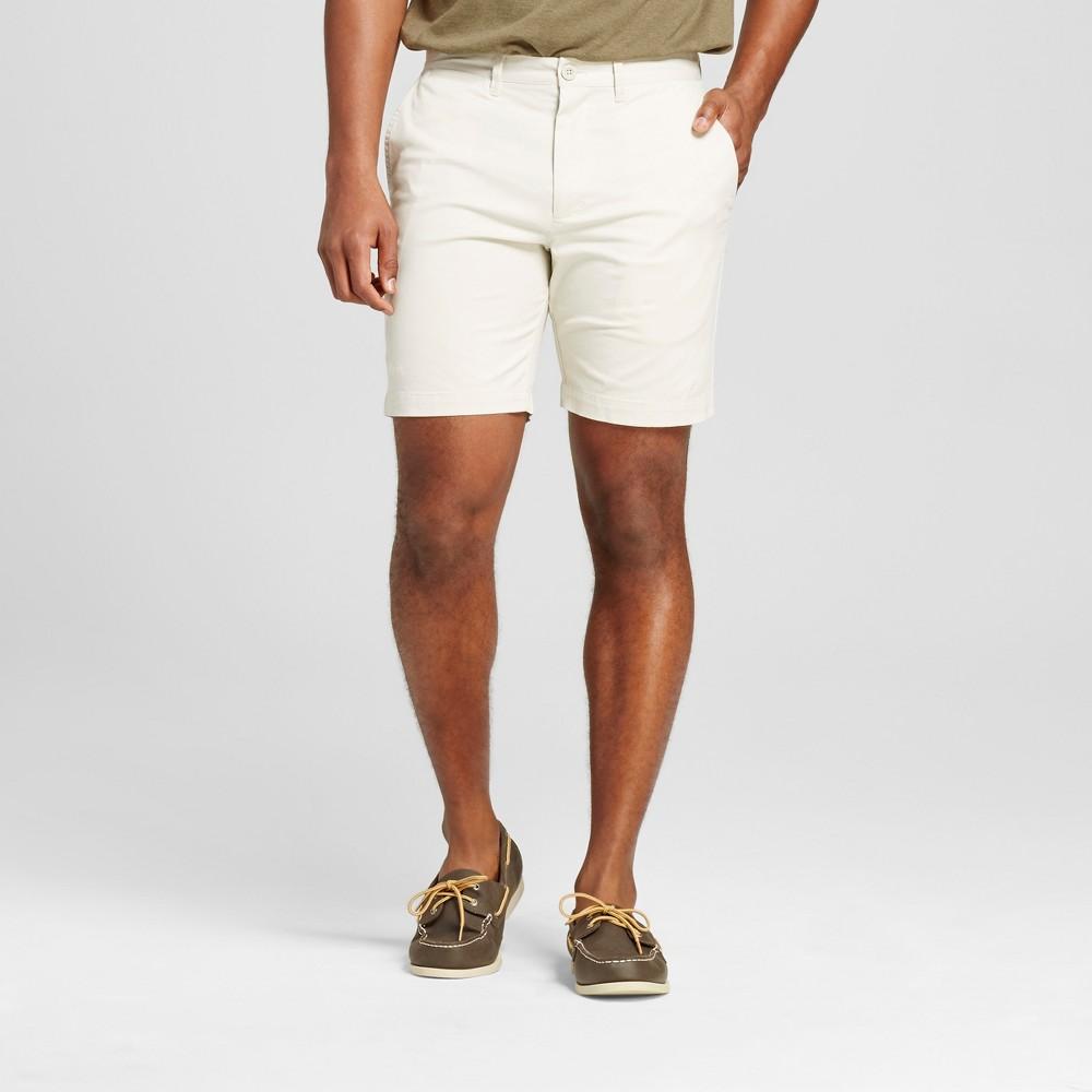 Mens 8 Club Shorts - Merona Tan 32
