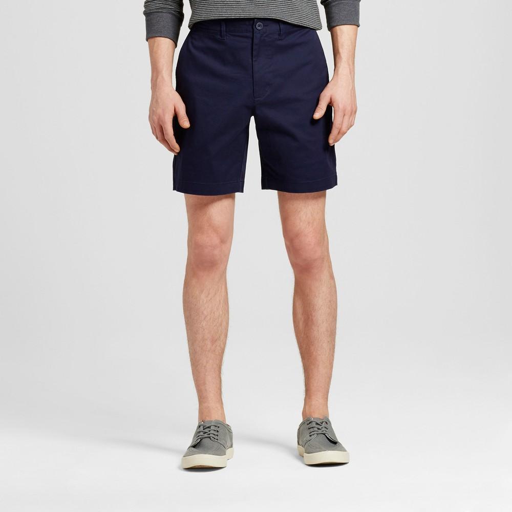Mens 8 Club Shorts - Merona Navy (Blue) 32