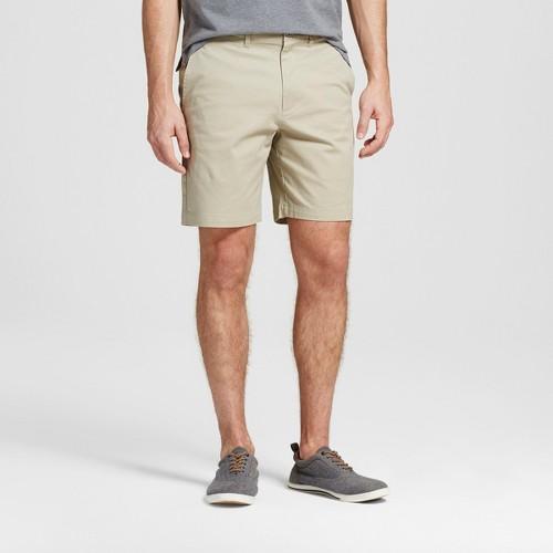 Men's 8 Club Shorts - Merona Khaki (Green) 28