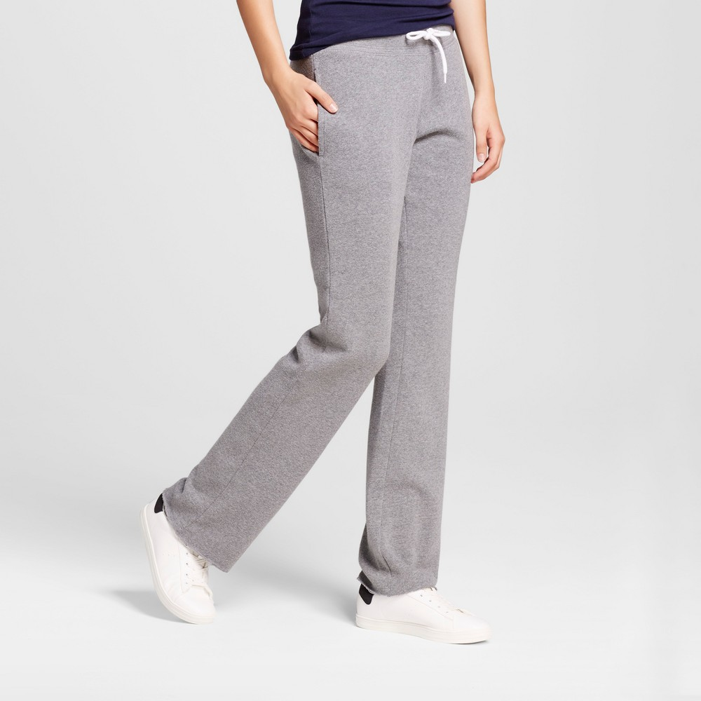 Womens Bootcut Fleece Sweatpant - Mossimo Supply Co. Heather Gray S
