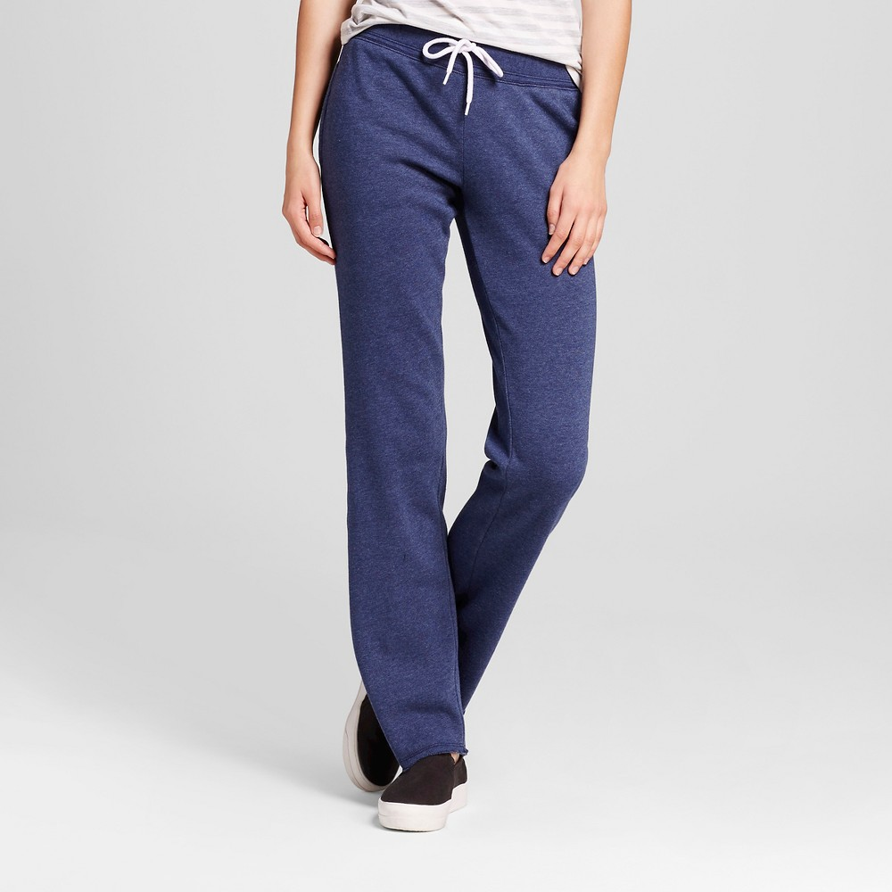 Womens Bootcut Fleece Sweatpant - Mossimo Supply Co. Navy (Blue) L