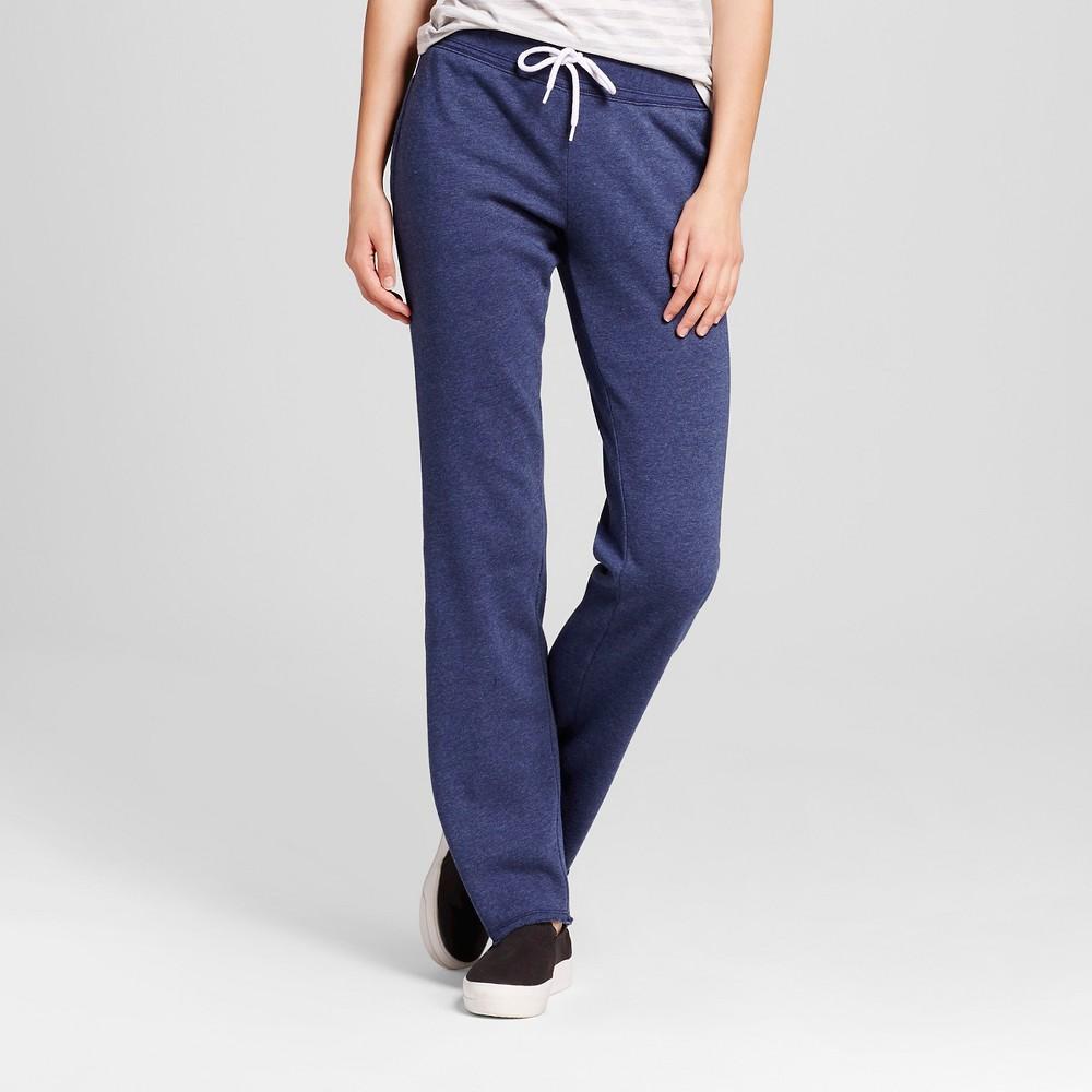Womens Bootcut Fleece Sweatpant - Mossimo Supply Co. Navy (Blue) XL
