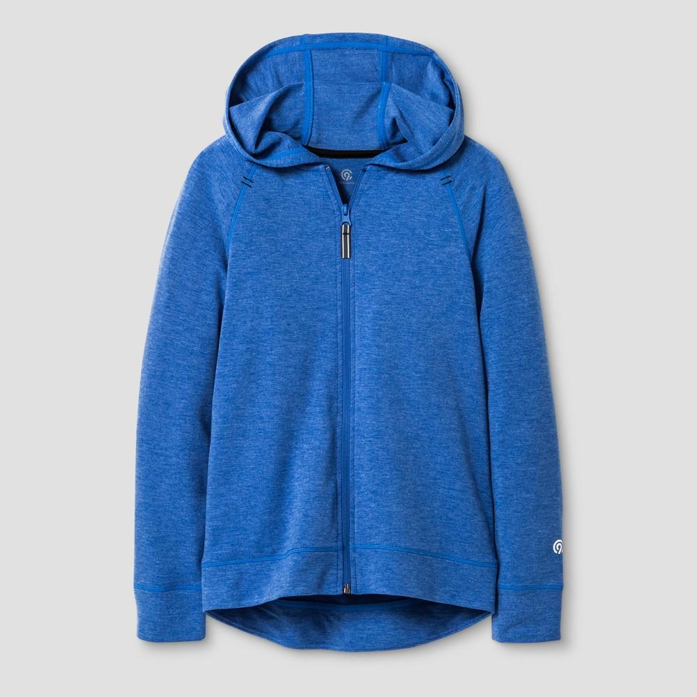 Boys' Soft Touch Full Zip Hoodie - C9 Champion - Black Space Dye XL