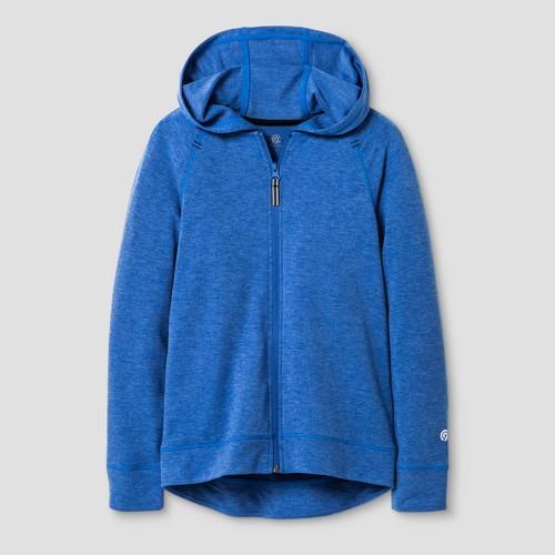 Boys' Soft Touch Full Zip Hoodie - C9 Champion - Ebony Space Dye XL, Boy's
