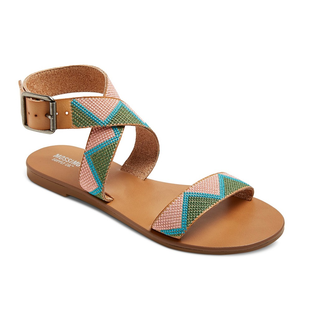 Womens Nadia Quarter Strap Sandals - Mossimo Supply Co. 10, Pink