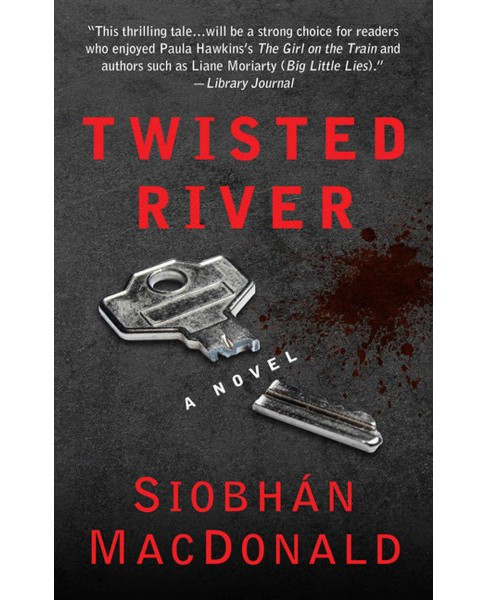 Twisted River (Large Print) (Hardcover) (Siobhan Macdonald) - image 1 of 1