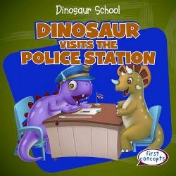 Dinosaur Visits the Police Station (Library) (Ken Alside)