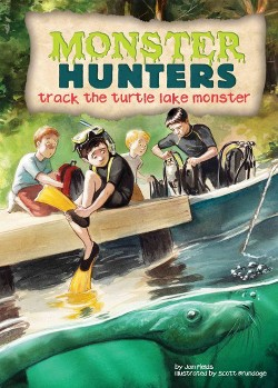 Track the Turtle Lake Monster (Library) (Jan Fields)