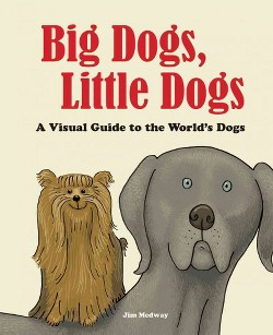 Big Dogs, Little Dogs : A Visual Guide to the World's Dogs (Hardcover) (Jim Medway)