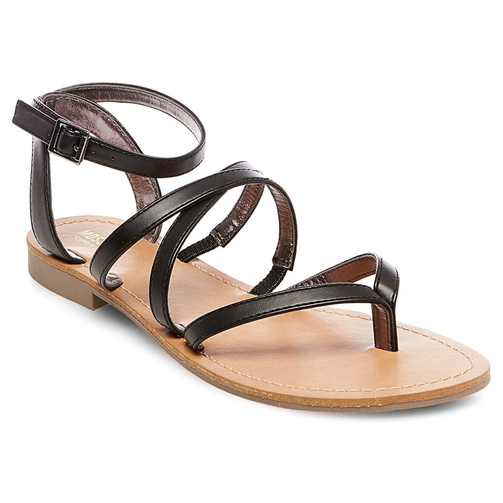 Womens Mai Thong Sandals - Mossimo Supply Co. Black 7.5