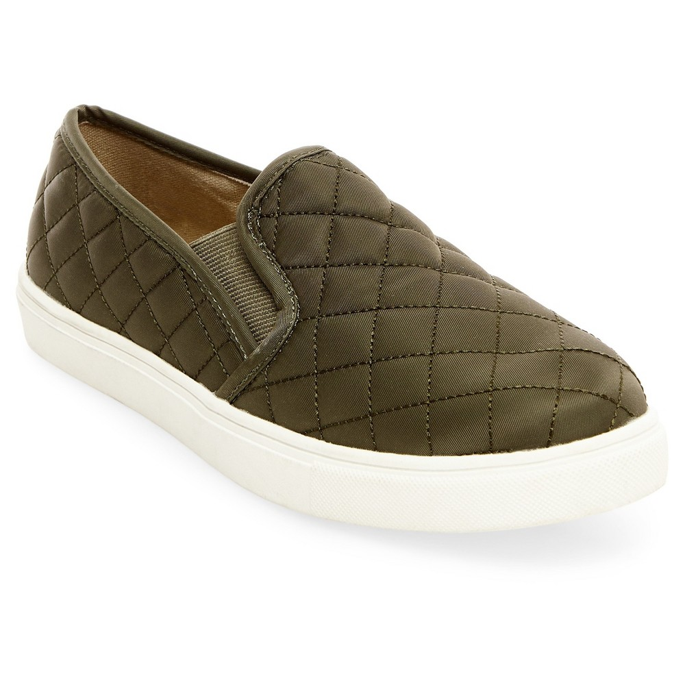Womens Reese Slip On Sneakers - Mossimo Supply Co. Green 7