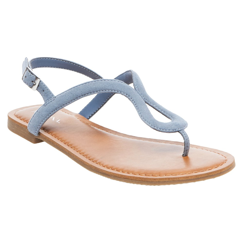 Womens Davinia Thong Sandals - Merona Blue 5.5