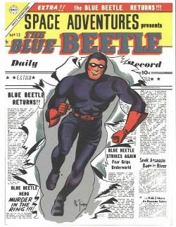 Space Adventures 13 : The Blue Beetle (Paperback) (Charlton Comics)