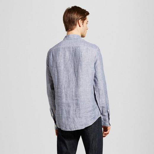 Men's Long Sleeve Stripe Button Down Shirt - Merona™ : Target