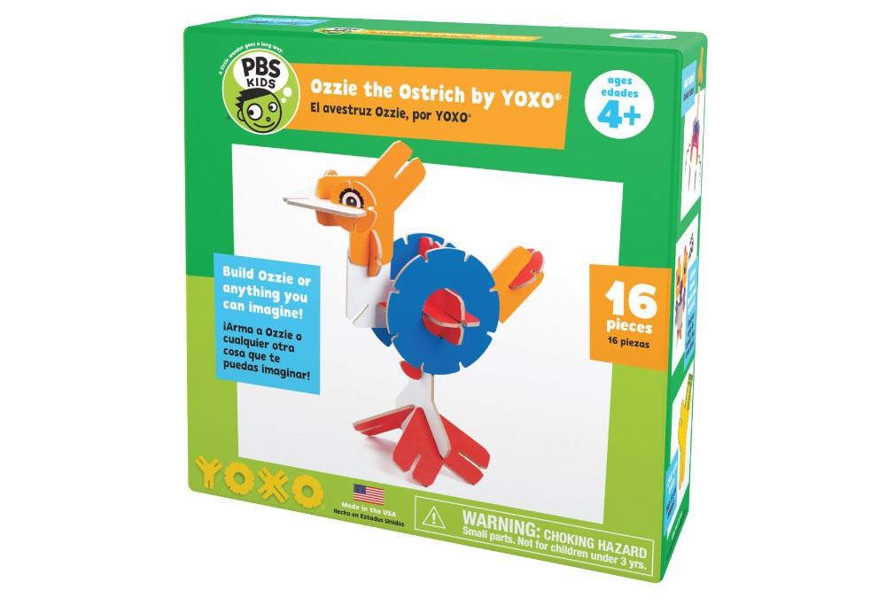 Yoxo Ozzie the Ostrich Pbs Kids Creative Building Set