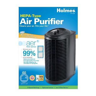 Holmes® HEPA-Type Mini Tower Air Purifier HAP412BN-UA