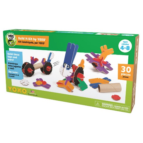 Yoxo 30 Piece Creative Building PBS Kids Build It Kit - image 1 of 7