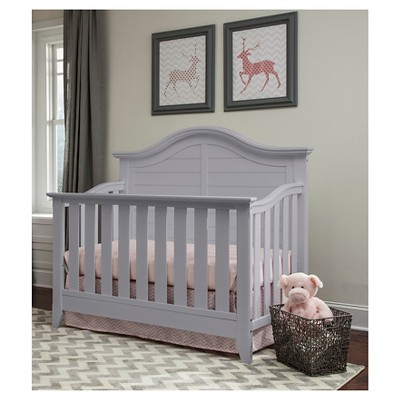 Thomasville Kids Southern Dunes Lifestyle 4 In 1 Convertible Crib   Pebble  Gray