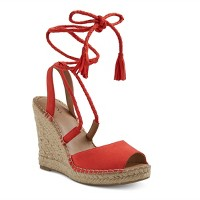 Women's Maren Lace Up Wedge Espadrille Sandals - Merona. opens in a new tab.