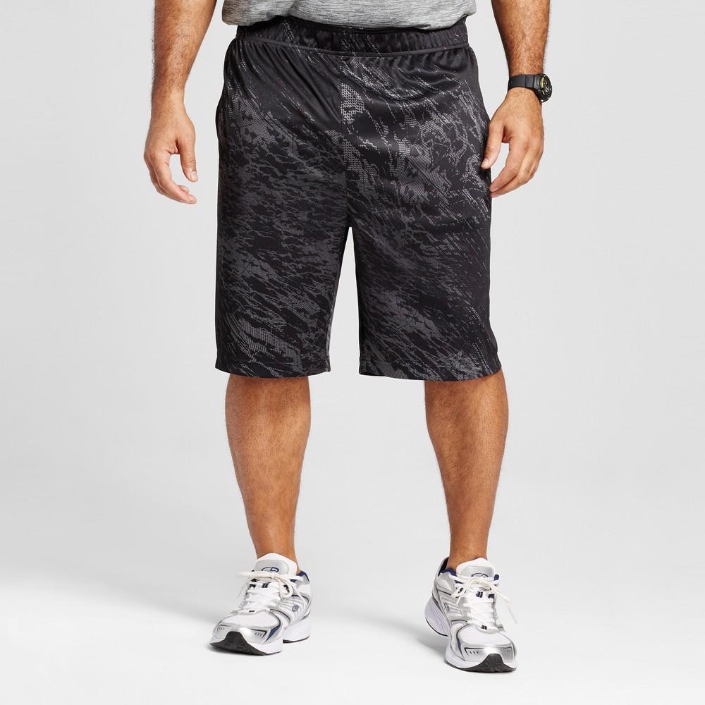 Mens Big & Tall Circuit Training Shorts - C9 Champion - Thundering Gray 3XB