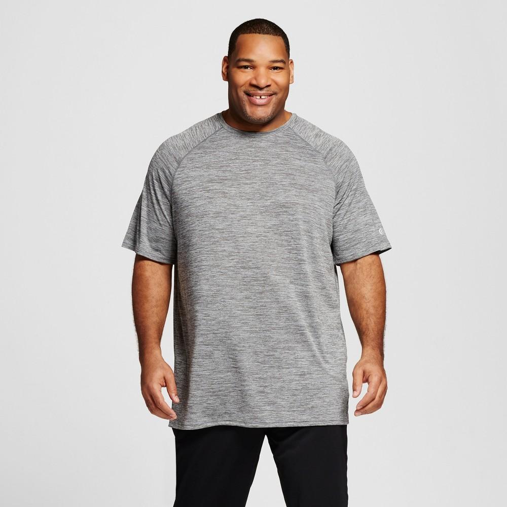 Mens Tall Tech T-Shirt - C9 Champion Thundering Gray Heather Xlt