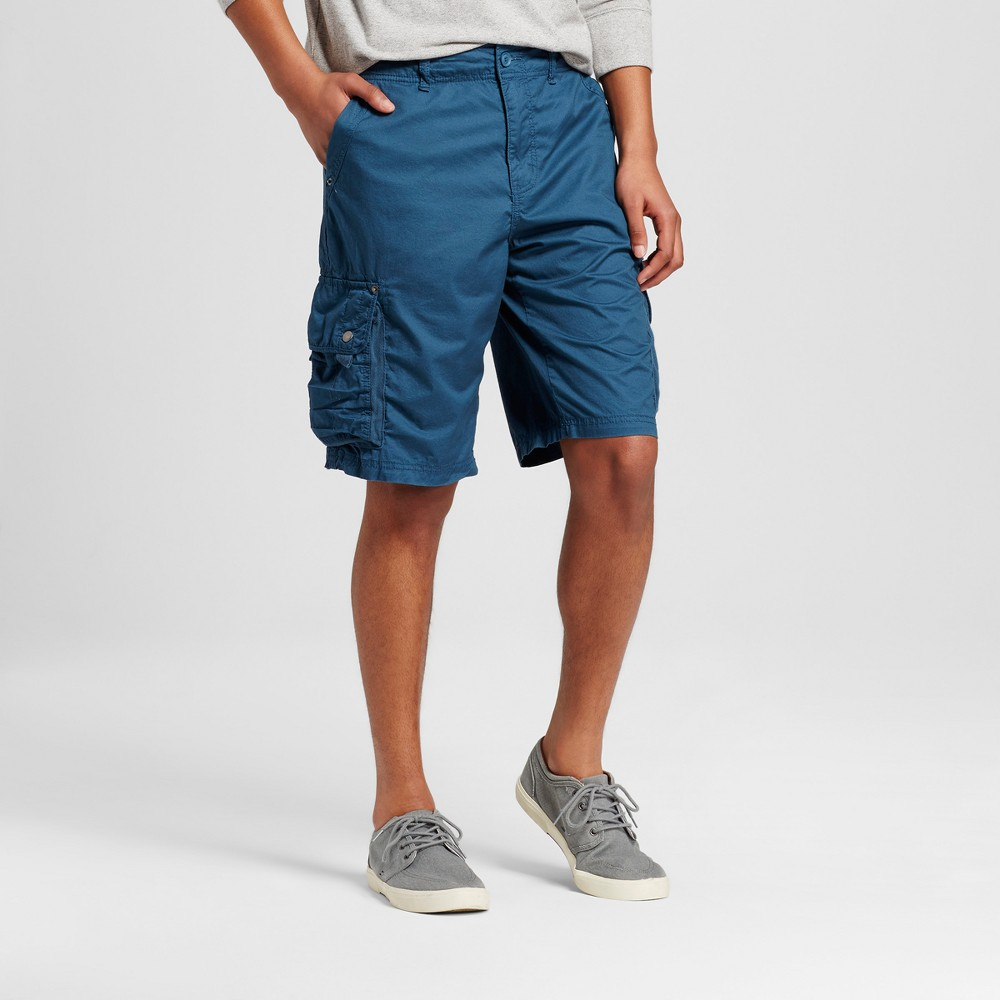 Mens Cargo Shorts - Mossimo Supply Co. Teal (Blue) 28