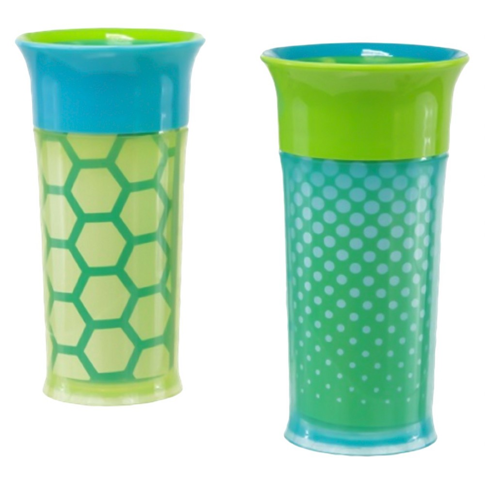 Sassy 9oz Insulated Cup 2pk, Blue
