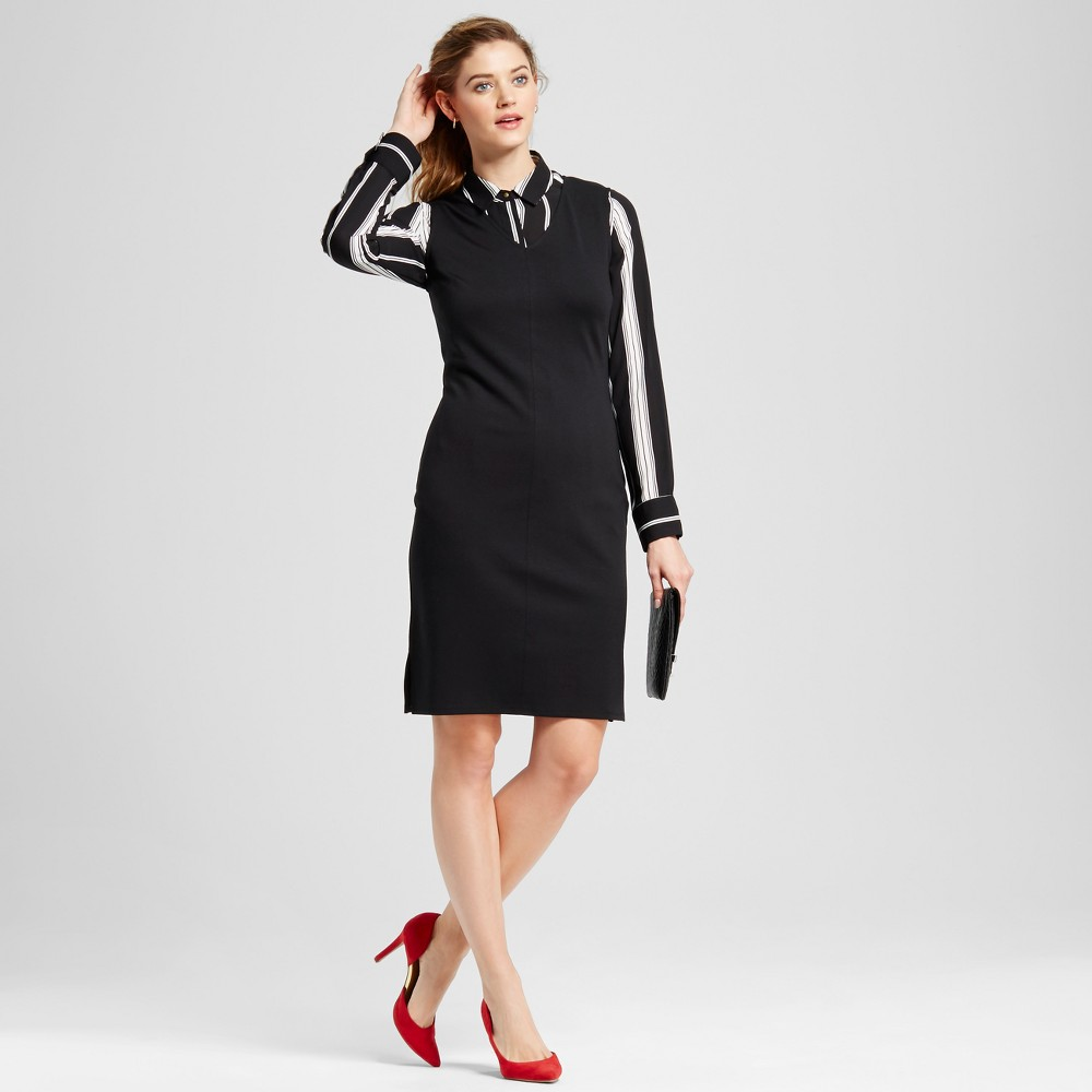 Women's Sheath Dress – Merona Ebony L