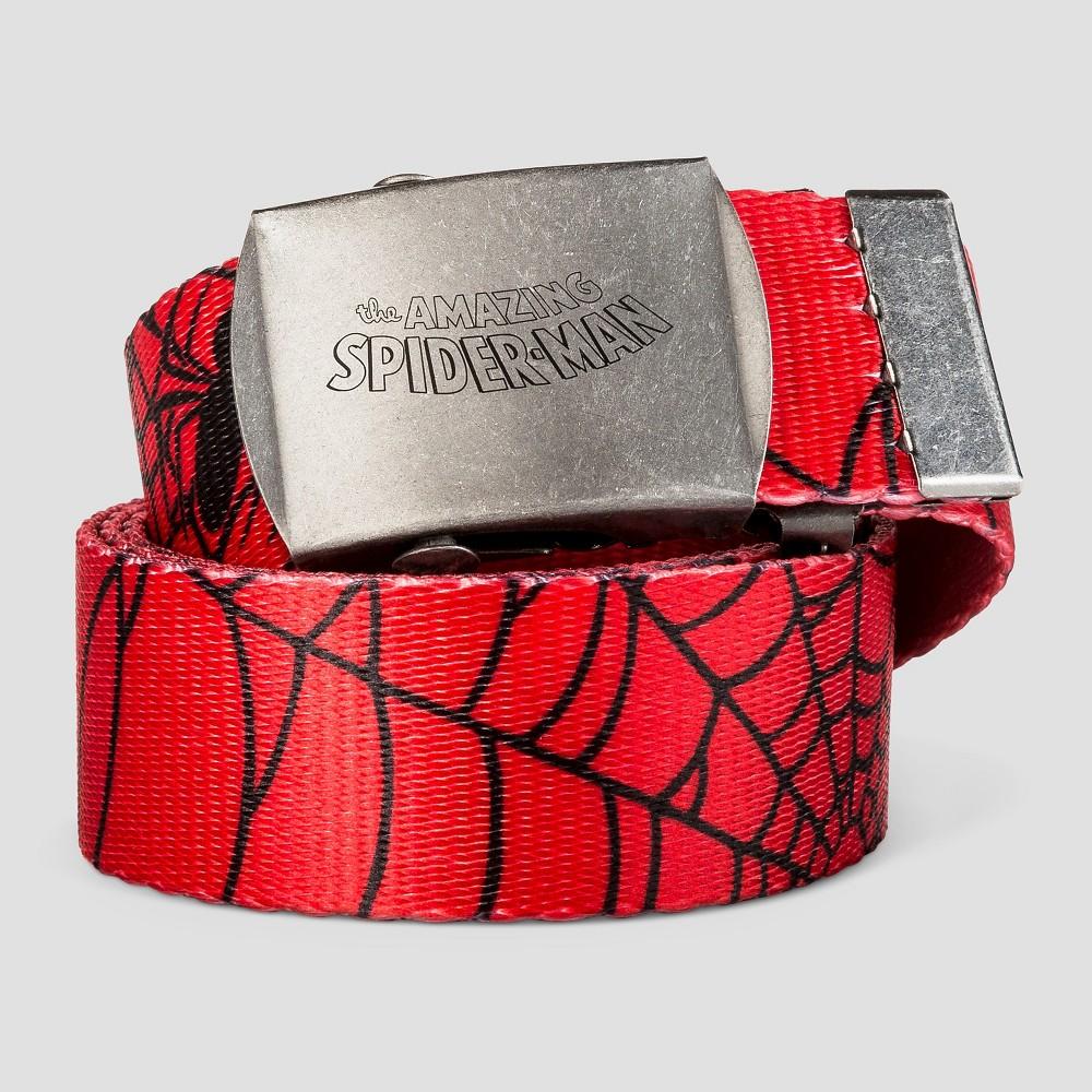 Boys' Spider-Man Belt - Red